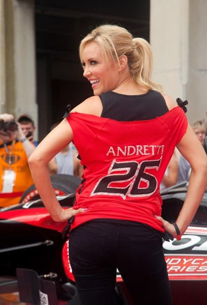 Bridget Marquardt attends the 100th Anniversary Indianapolis 500 at Indianapolis Motor Speedway on May 29, 2011 in Indianapolis, Indiana.