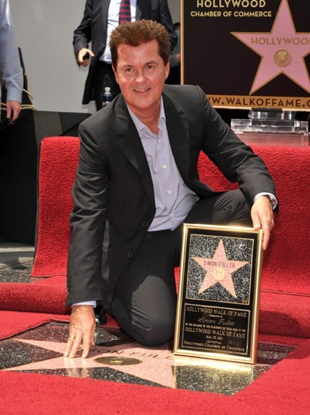 Simon Fuller attends the Simon Fuller Hollywood Walk Of Fame Induction Ceremony on May 23, 2011 in Hollywood, California.