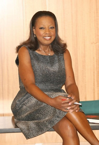 Star Jones promotes 'Satan's Sisters' at Barnes & Noble, 86th & Lexington on May 6, 2011 in New York City.