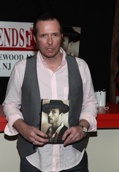 Scott Weiland promotes the new book 'Not Dead and Not for Sale' at Bookends Bookstore on May 18, 2011 in Ridgewood, New Jersey.