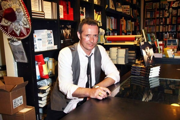 Stone Temple Pilots frontman Scott Weiland signs copies of his memoir 'Not Dead & Not For Sale' at Book Soup on May 24, 2011 in West Hollywood, California.