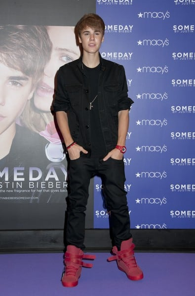 Justin Bieber 'Someday' Fragrance Launch at Macy's in New York City on June 23, 2011