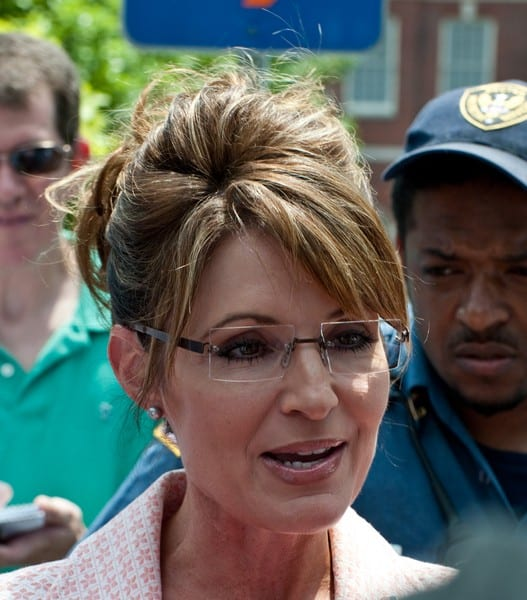 Sarah Palin Visits The Liberty Bell in Philadelphia, Pennsylvania on May 31, 2011