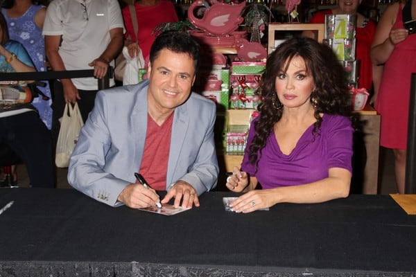 'Donny & Marie' Album Release Party at the Flamingo Las Vegas on June 21, 2011 in Las Vegas, Nevada.