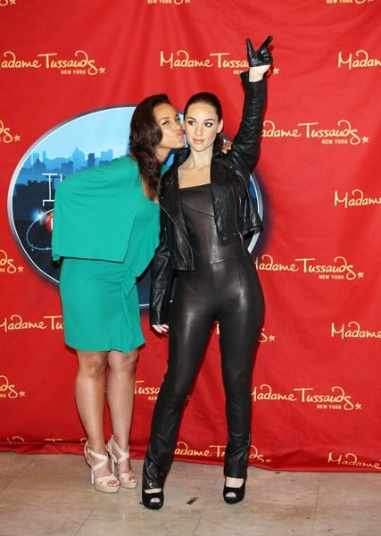 Recording artist Alicia Keys attends the Alicia Keys Wax Figure Unveiling at Madame Tussauds on June 28, 2011 in New York City.