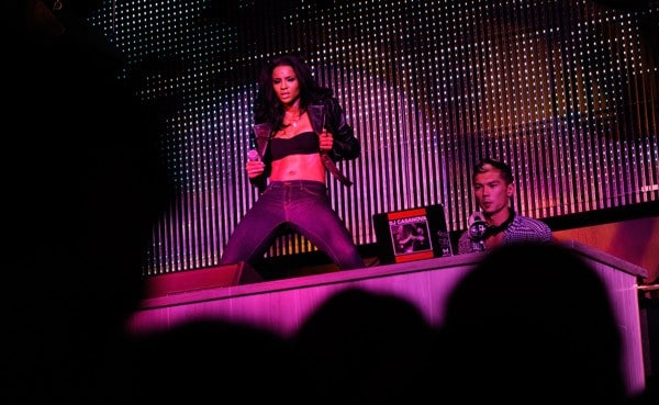 Singer Ciara performs at the Chateau Nightclub & Gardens at the Paris Las Vegas on June 10, 2011 in Las Vegas, Nevada.