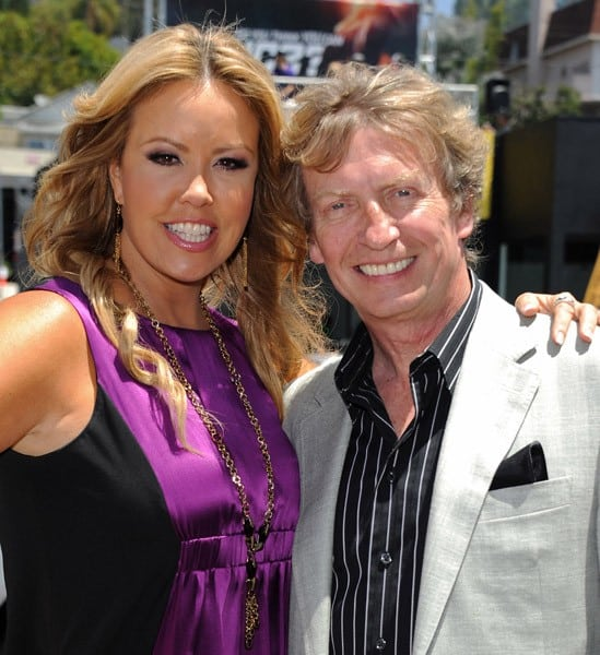 Mary Murphy and Nigel Lythgoe at the 'So You Think You Can Dance' Live Action Billboard Celebration on June 14, 2011 in Los Angeles, California.