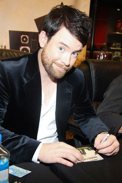 David Cook promotes 'This Loud Morning' at Best Buy Union Square on June 28, 2011 in New York City.