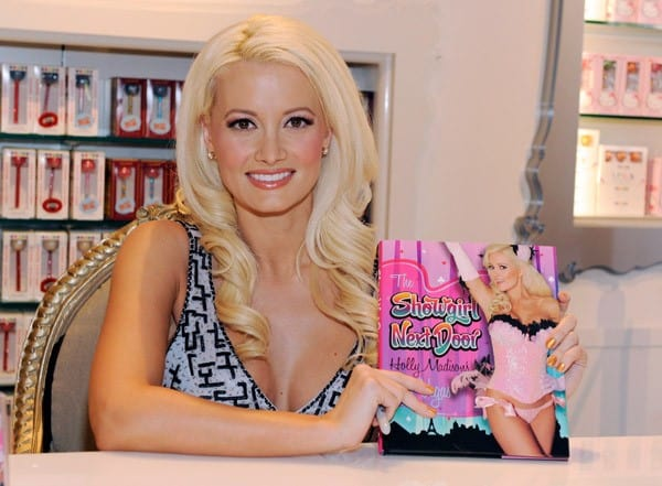 Televison personality Holly Madison attends her book signing at the Sugar Factory at the Paris Las Vegas on June 11, 2011 in Las Vegas, Nevada.