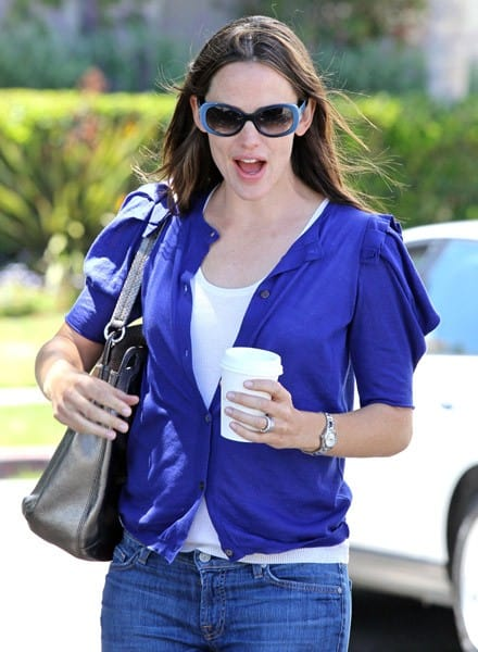 Jennifer Garner is seen at Tavern restaurant in Brentwood on June 6, 2011 in Los Angeles, California.