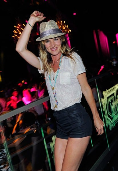 Actress Juliette Lewis celebrates her birthday at the Chateau Nightclub & Gardens at the Paris Las Vegas on June 11, 2011 in Las Vegas, Nevada.
