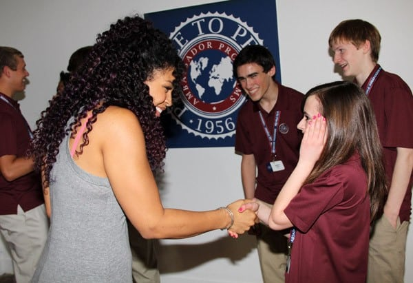 an introduction to the people to people student ambassador program People to people student ambassador program vito rinaldi sophomore penn state hazleton cas 100 speech communication october 12.