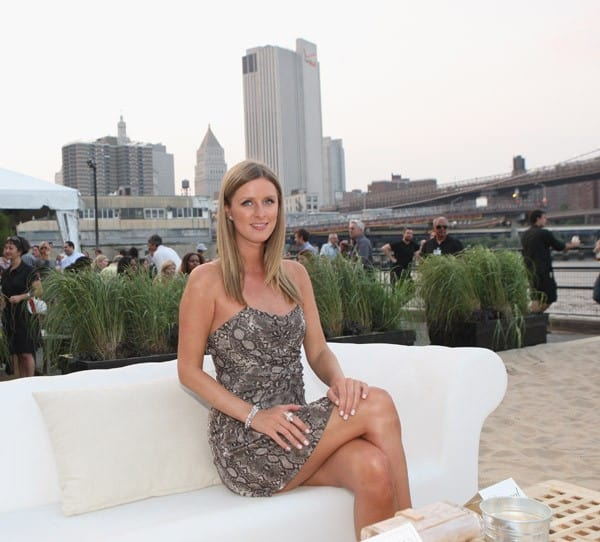 Nicky Hilton attends the Grand Opening Party of Beekman Beer Garden Beach Club on June 7, 2011 in New York City.