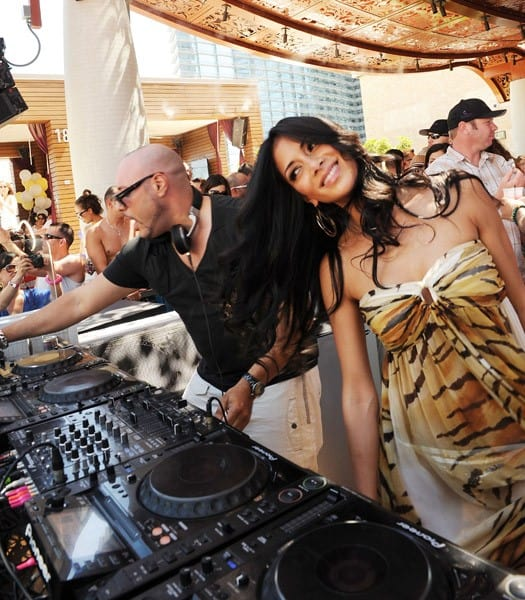 Nicole Scherzinger celebrates her birthday at Marquee Nightclub and Dayclub on June 25, 2011 in Las Vegas, Nevada.