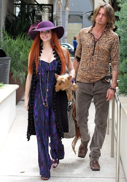 Phoebe Price is seen shopping in Beverly Hills on June 12, 2011 in Los Angeles, California.