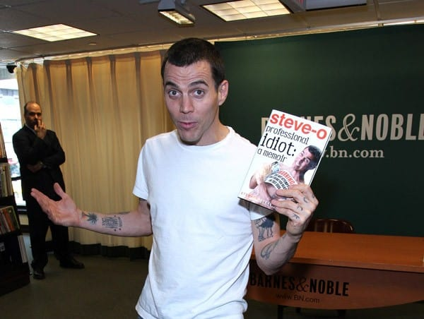 Stephen 'Steve-O' Glover promotes 'Professional Idiot' at Barnes & Noble, 5th Avenue on June 8, 2011 in New York City.