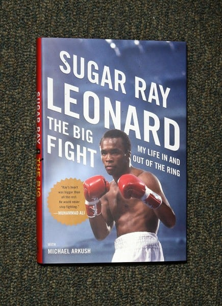 Sugar Ray Leonard promotes 'Big Fight: My Life In And Out Of The Ring' at Barnes & Noble, 5th Avenue on June 7, 2011 in New York City.
