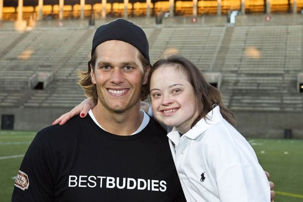 Tom Brady attends the flag football kick off for the 2011 Audi Best Buddies Challenge at Harvard Stadium on June 3, 2011 in Boston, Massachusetts.
