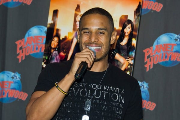 Actor Travis Winfrey visits Planet Hollywood Times Square on June 20, 2011 in New York City.