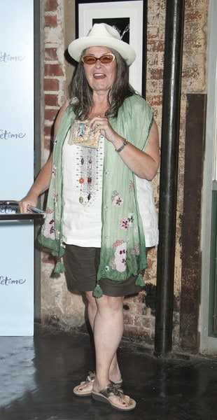 Roseanne Barr Promotes New LIfetime Reality TV Show 'Roseanne's Nuts' at Chelsea Market in New York City on July 13, 2011