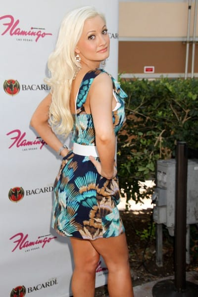 Holly Madison Hosts a Weekend Party at Flamingo's 'Go' Pool in Las Vegas, Nevada on July 2, 2011