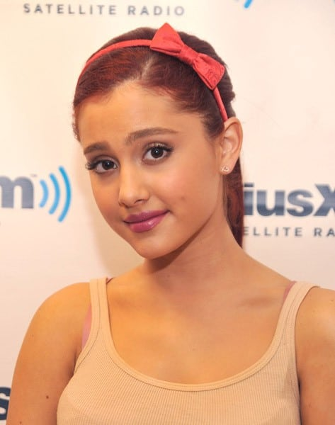 Actress Ariana Grande visits SiriusXM Studio on July 18, 2011 in New York City.