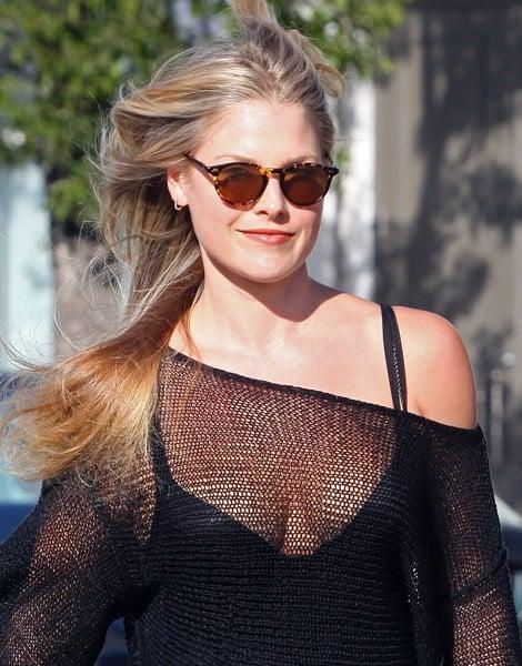 Ali Larter is seen in Beverly Hills on July 13, 2011 in Los Angeles, California.