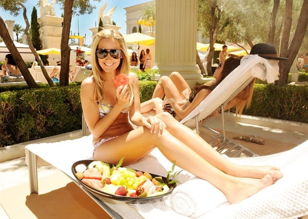 Ashley Tisdale attends Venus Pool Club at Caesars Palace on July 16, 2011 in Las Vegas, Nevada.