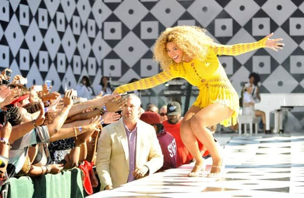 Good Morning America Email : Beyonce performs on good morning america contact any