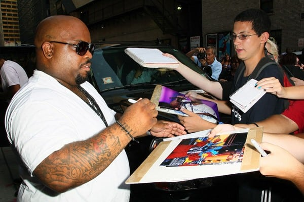 Singer Cee Lo Green visits 'Late Show With David Letterman' at the Ed Sullivan Theater on July 20, 2011 in New York City.