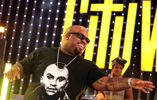 Cee Lo Green performs at the 5 Towers Outdoor Concert Plaza at Universal CityWalk on July 7, 2011 in Universal City, California.