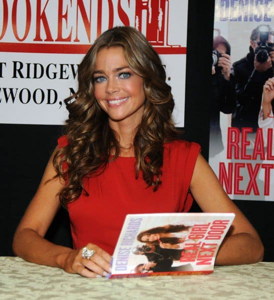 Denise Richards promotes her new book 'The Real Girl Next Door' at Bookends Bookstore on July 27, 2011 in Ridgewood, New Jersey.
