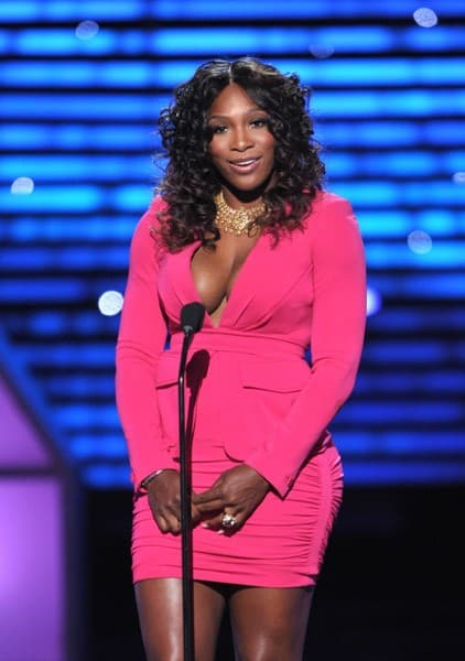 Serena Williams attends The 2011 ESPY Awards held at the Nokia Theatre L.A. Live on July 13, 2011 in Los Angeles, California.