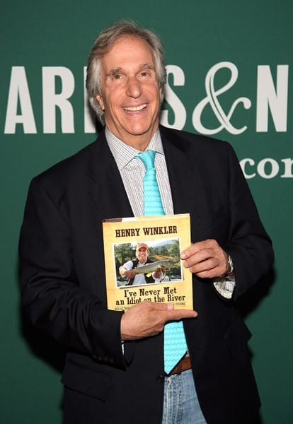 Henry Winkler promotes the new book 'I've Never Met An Idiot On The River!' at Barnes & Noble Union Square on July 13, 2011 in New York City.