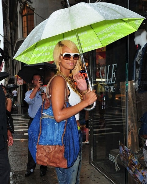 Keri Hilson spotted in Manhattan on July 25, 2011 in New York City.
