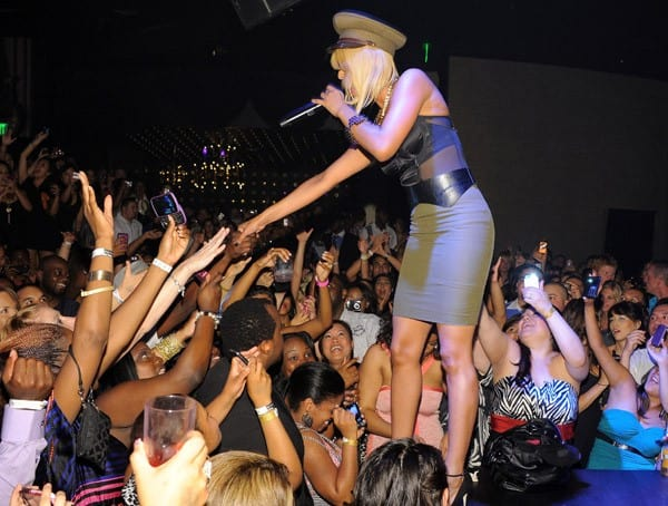 Recording artist Keri Hilson performs at Gallery Nightclub on July 9, 2011 in Las Vegas, Nevada.
