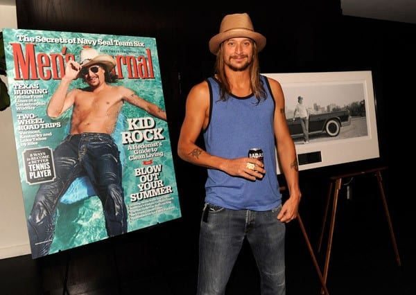 Kid Rock attends the 'Born Free' platinum party at The Hotel on Rivington Penthouse on July 11, 2011 in New York City.