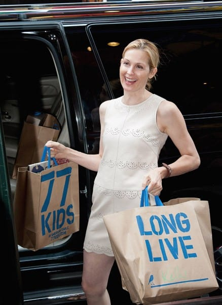 Kelly Rutherford visits Times Square on July 20, 2011 in New York City.