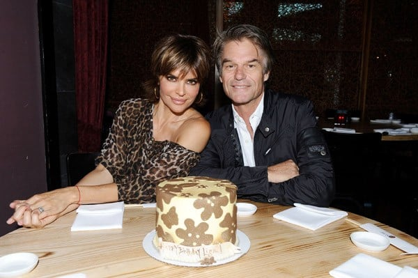 Lisa Rinna and Harry Hamlin celebrate Lisa's birthday at the Hard Rock Hotel San Diego on July 9, 2011 in San Diego, California.