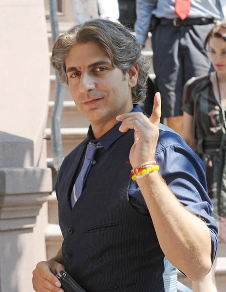 Actor Michael Imperioli filming on location for 'Girls' on the streets of Manhattan on July 20, 2011 in New York.
