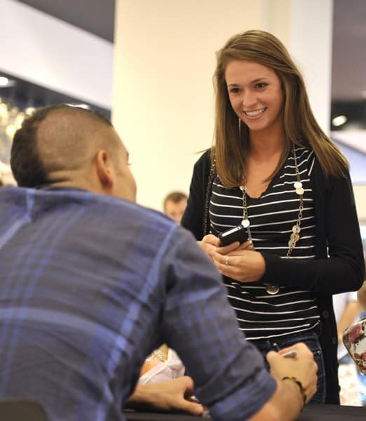 Musician/Actor Mark Salling signs copies of 'Pipe Dreams' at GUESS on July 18, 2011 in Los Angeles, California.