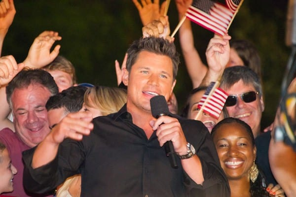Musician Nick Lachey attends the 2011 Macy's 4th of July Fireworks on July 4, 2011 in New York City.