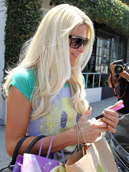 3 paris hilton is seen leaving a hair salon in west hollywood on july 21 2011 in los angeles - Paris hair and nail salon ...