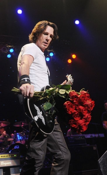 Rick Springfield performs at the State Theater on July 10, 2011 in New Brunswick, New Jersey.