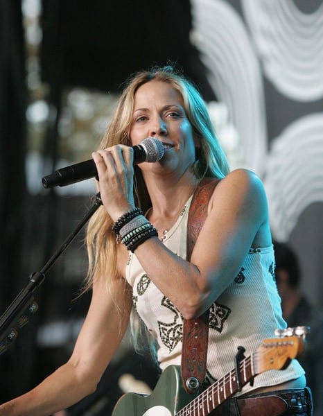 Sheryl Crow performs at the Shoreline Amphitheatre on July 29, 2011 in Mountain View, California.