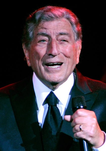 Singer Tony Bennett performs at The Pearl concert theater at the Palms Casino Resort on July 24, 2011 in Las Vegas, Nevada.