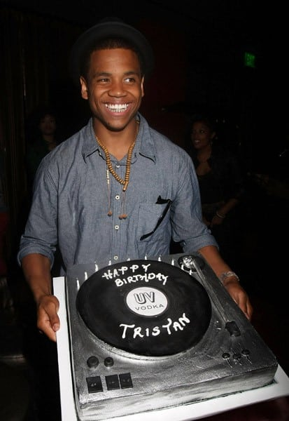 Actor Tristan Wilds celebrates at his 22nd Birthday Celebration at Stone Rose on July 16, 2011 in Los Angeles, California.