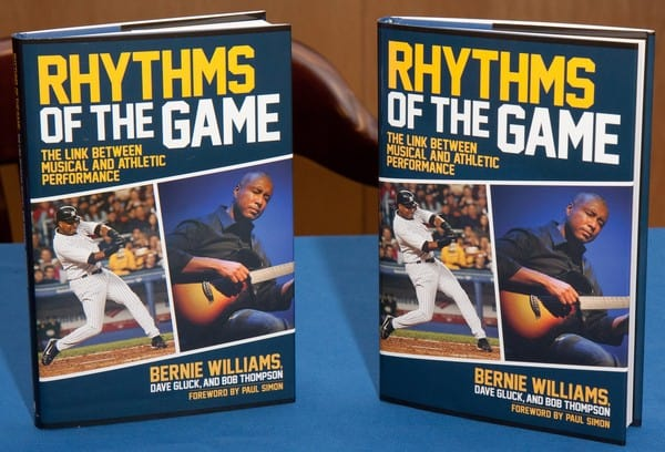 Bernie Williams 'Rhythms of the Game: The Link Between Musical and Athletic Performance' Book Signing at Barnes & Noble in White Plains, New York on August 2, 2011