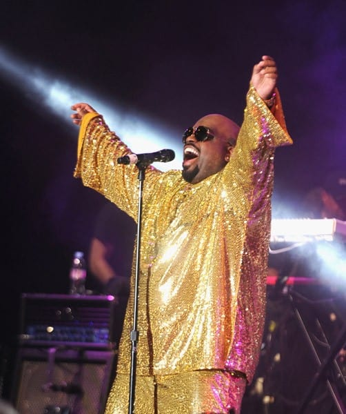 Cee Lo Green performs during the 2011 DIRECTV Old School Challenge at the Lexington Avenue Armory on August 25, 2011 in New York City.