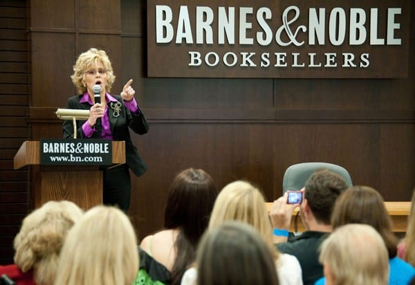 Actress Jane Fonda promotes her book 'PrimeTime: Making the Most of All of Your Life' at Barnes & Noble bookstore at The Grove on August 15, 2011 in Los Angeles, California.